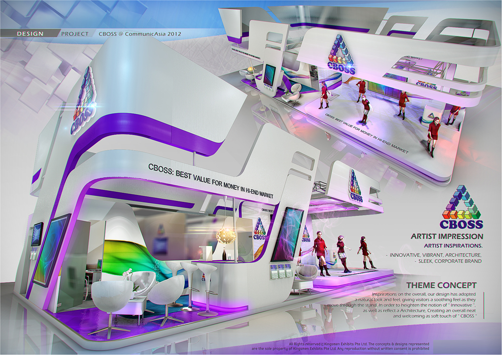 Exhibition Stand Design Singapore : Exhibition design special booth by amornwat
