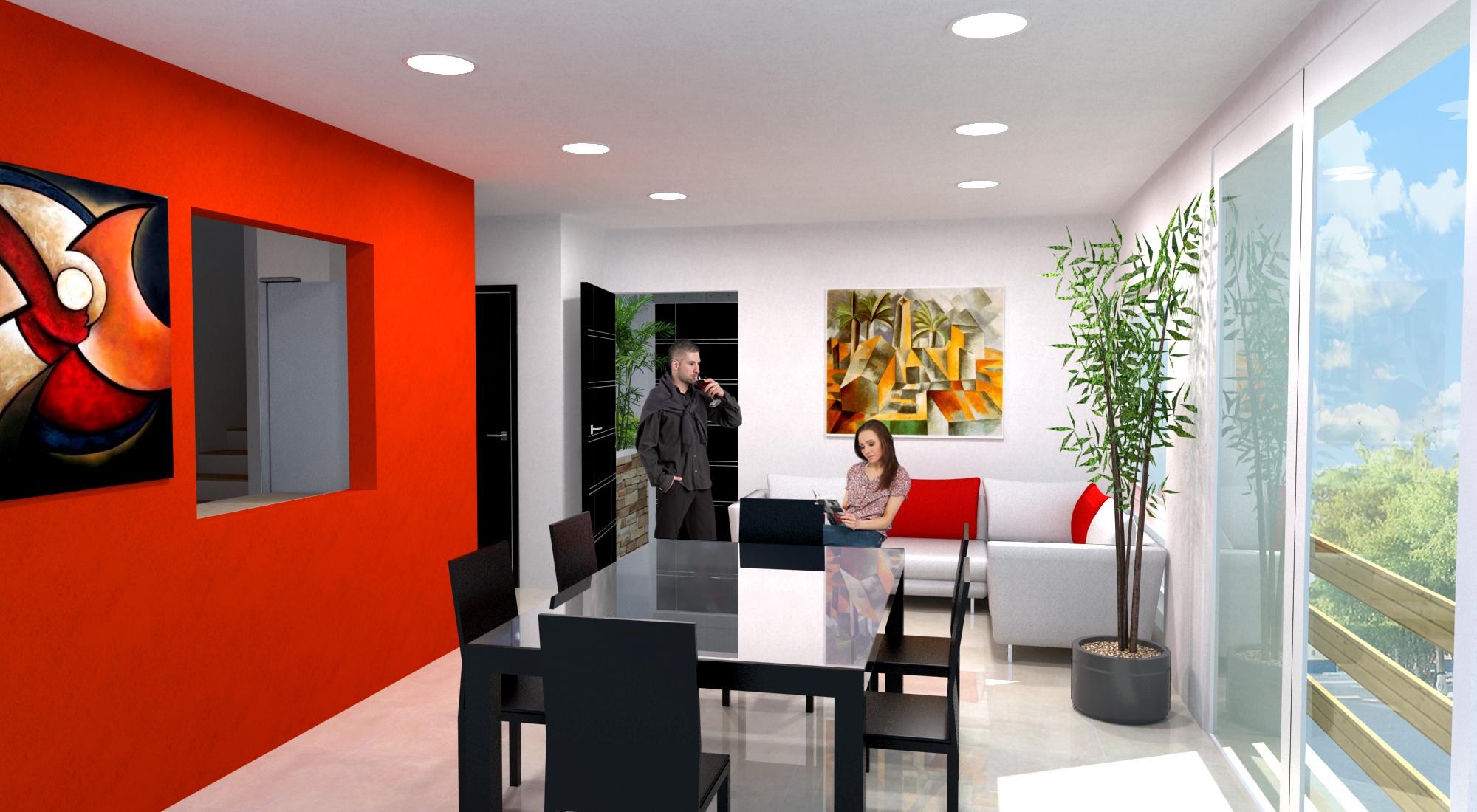 Morne calvaire apartments by alan gonzalez at for Departamento de interior