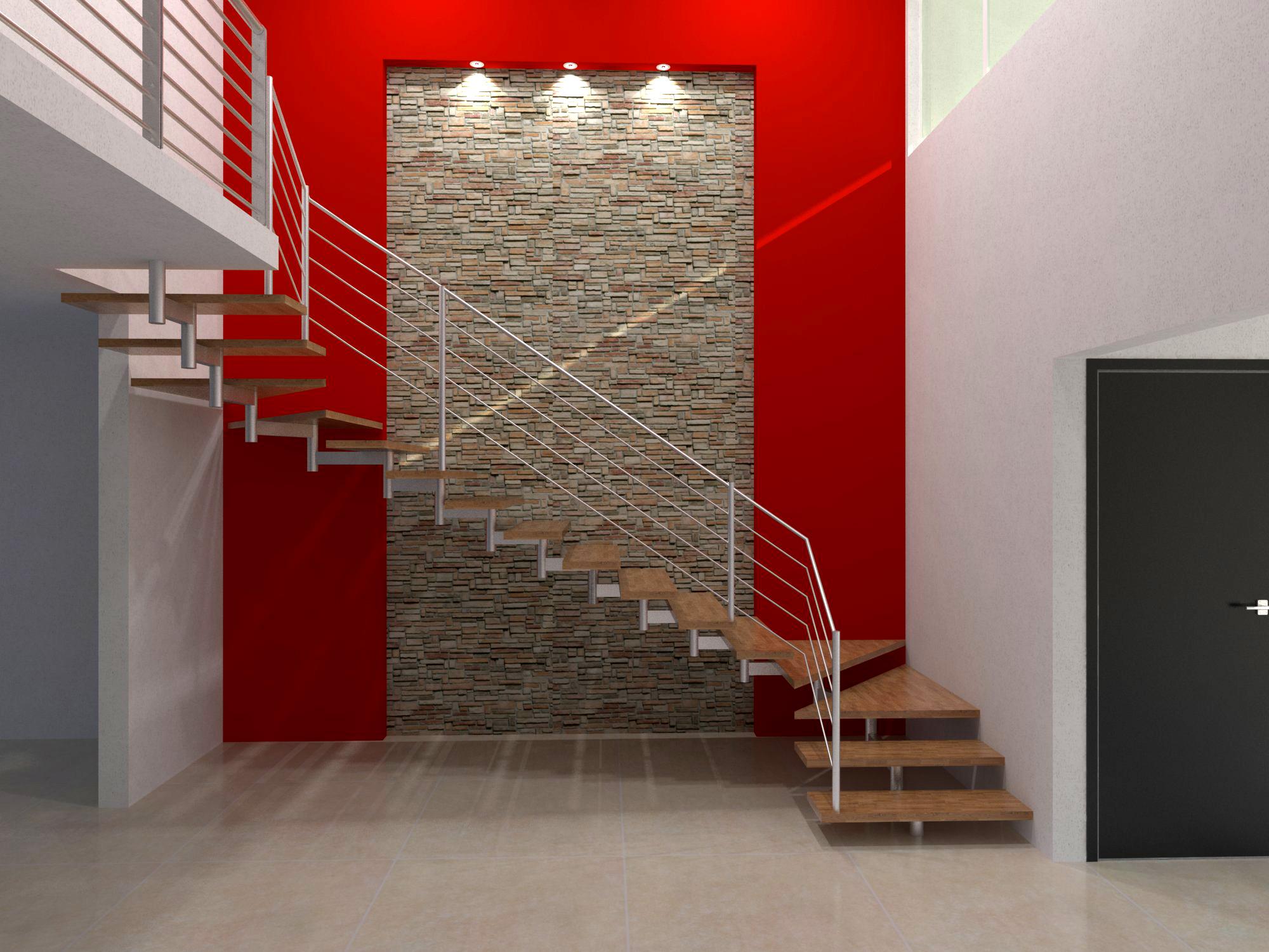 Renders proyectos varios by alan gonzalez at for Escaleras villar
