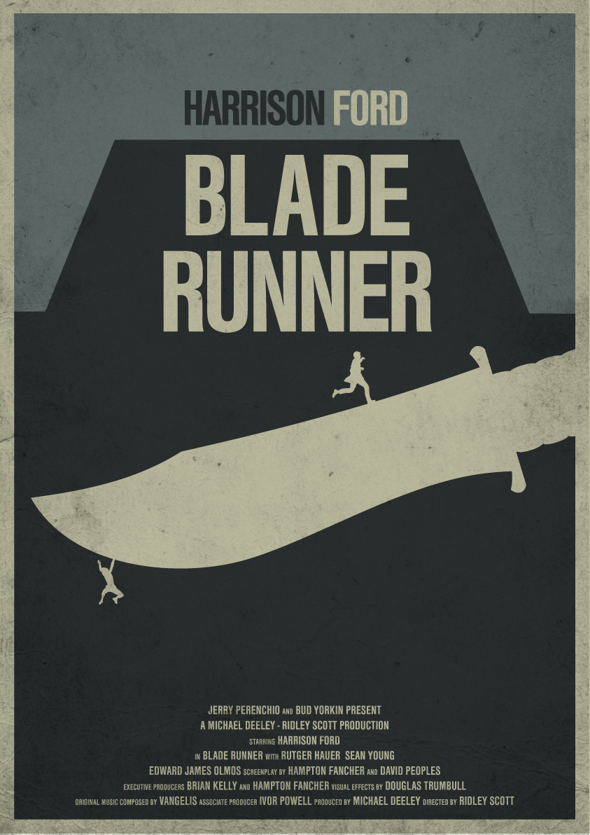 Alternative movie posters the matrix, trainspotting,blade ...