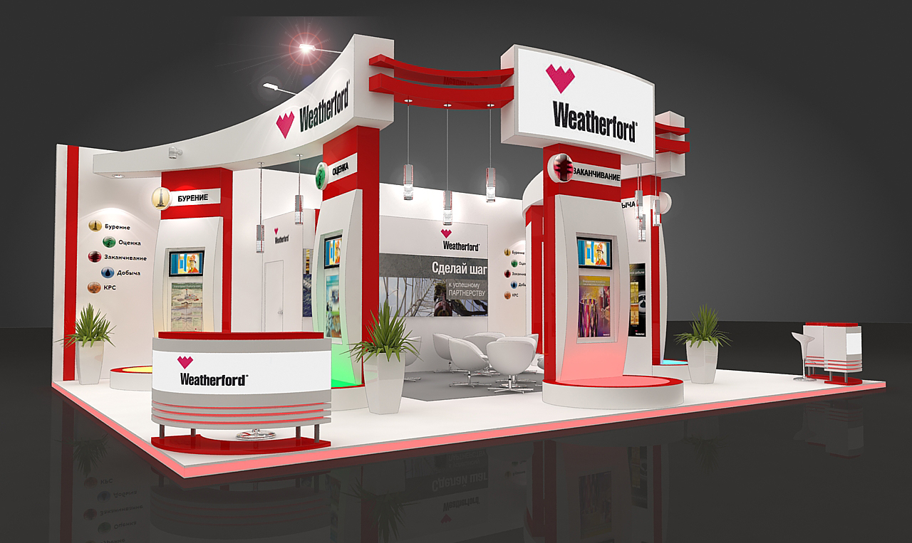 3d Exhibition Stand : Exhibition stands weatherford by mazurchuk yuri at