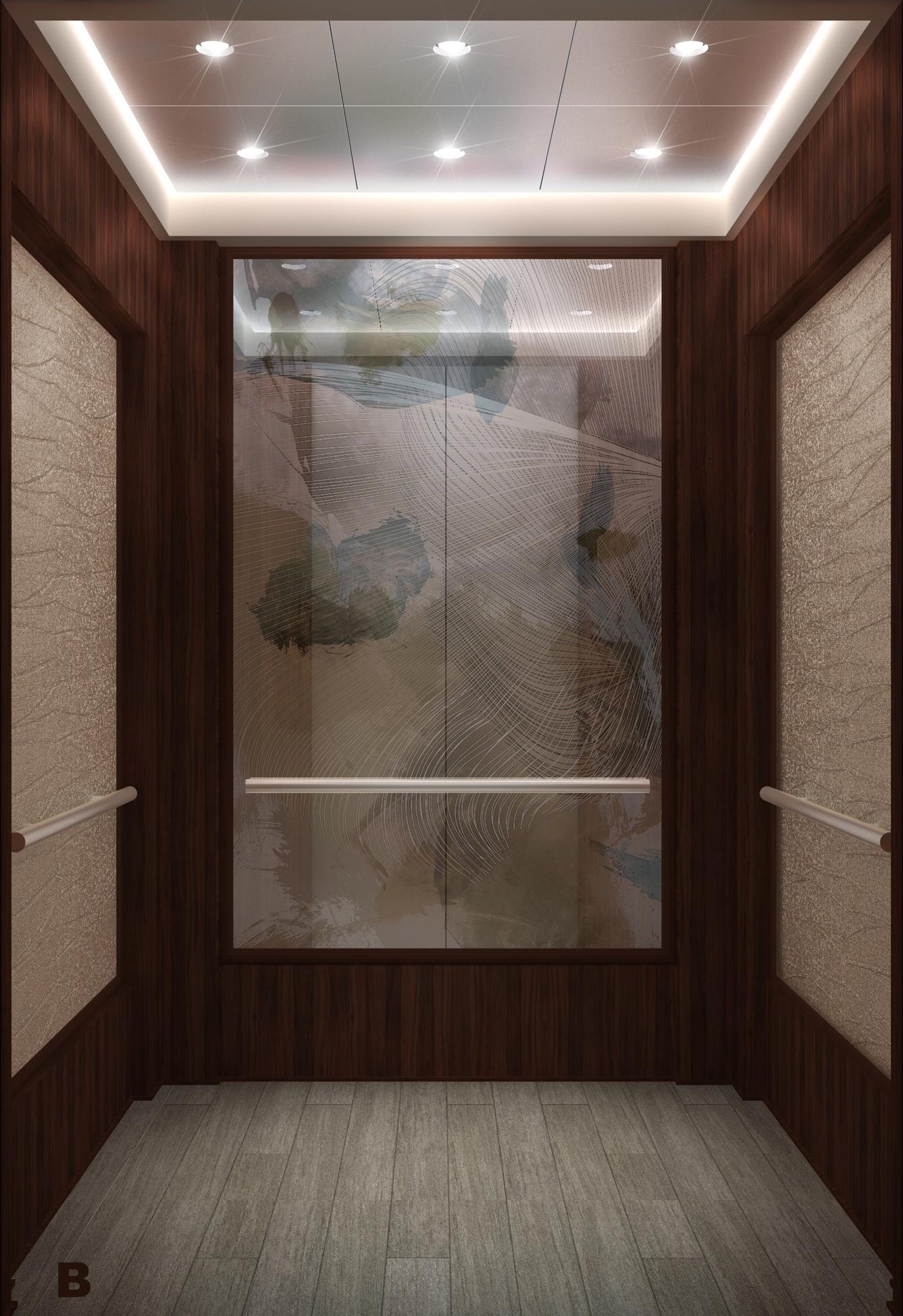 Walt disney world resort elevator cabs kbco designs by for Elevator designs