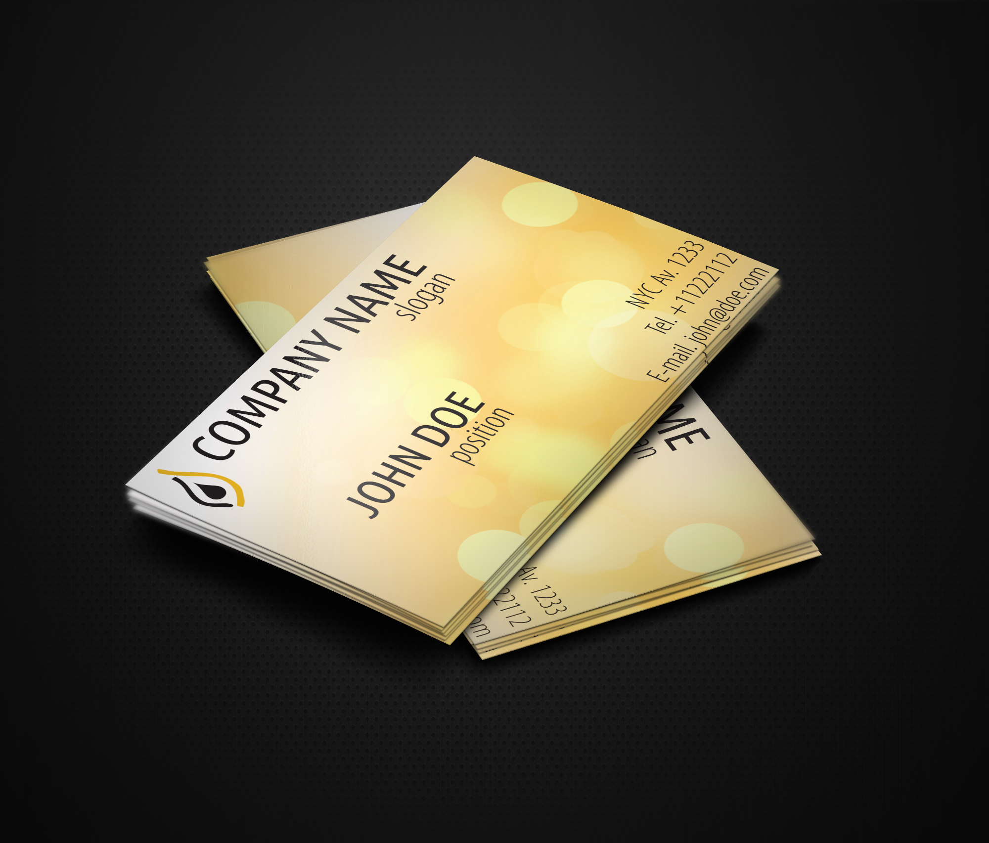 free vertical taxi business card template by borce markoski at