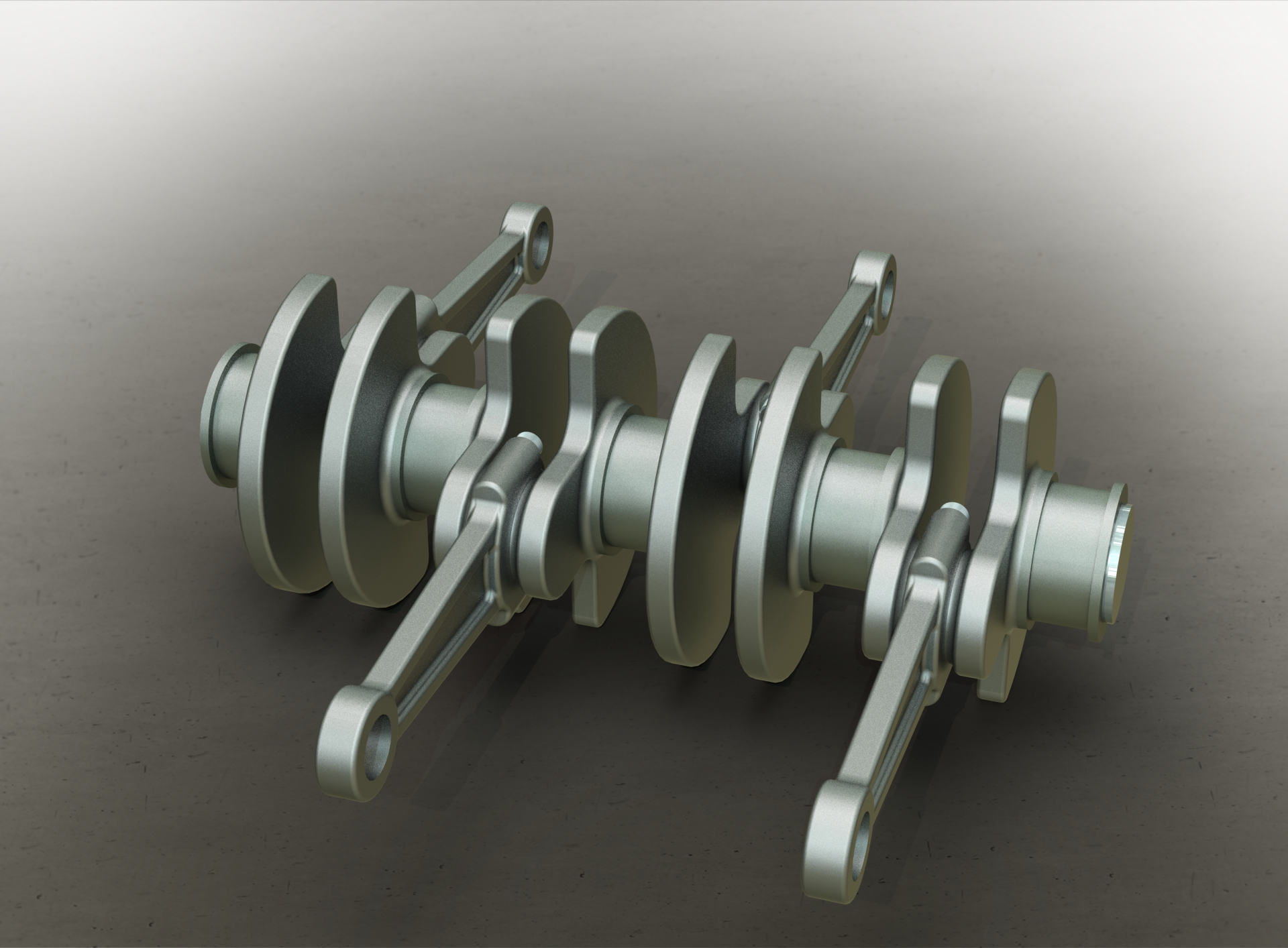 Connecting Rod H Profile 3d Model Race Engine Connecting Rod For Super together with SolidWorks Connecting Rod together with Crankshaft And Connecting Rod in addition Fordson Model F Tractor besides Slider Crank Mechanism. on engine connecting rod solidworks