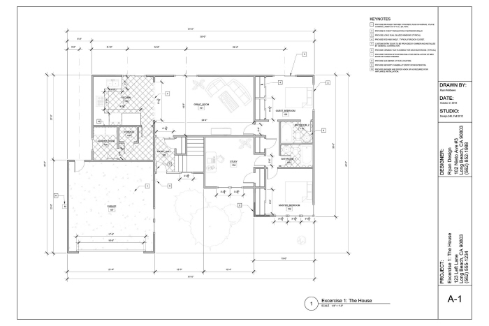 Farnsworth House Plan Numberedtype