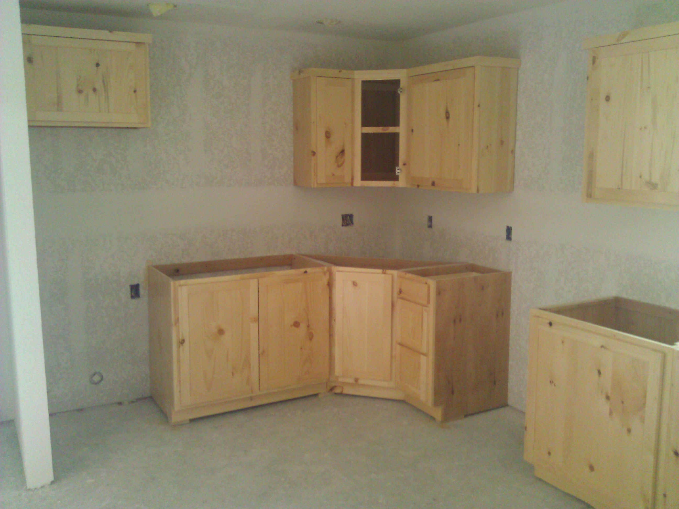 Knotty Pine Kitchen Cabinets By Tommy K At