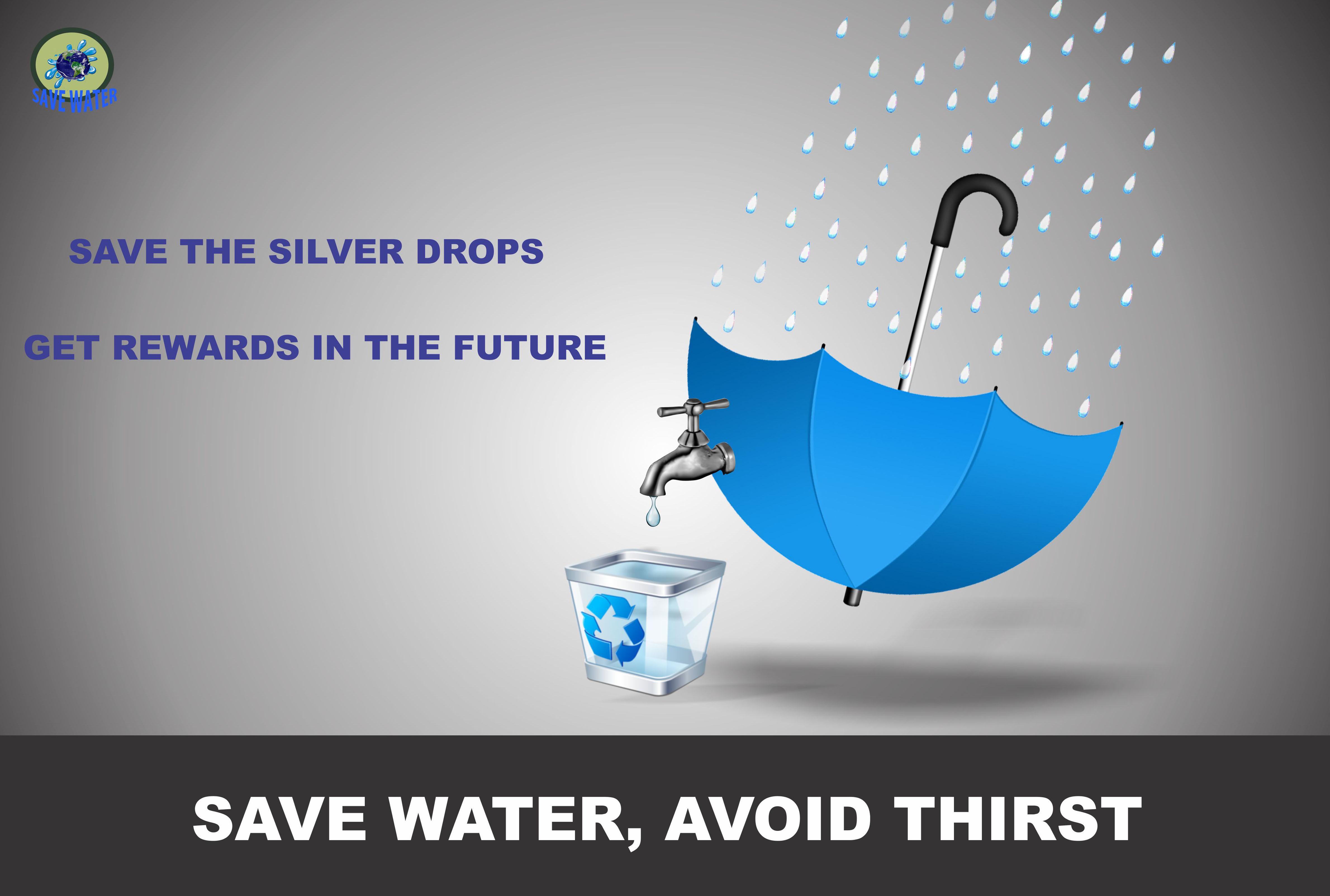 Design Poster Save Water