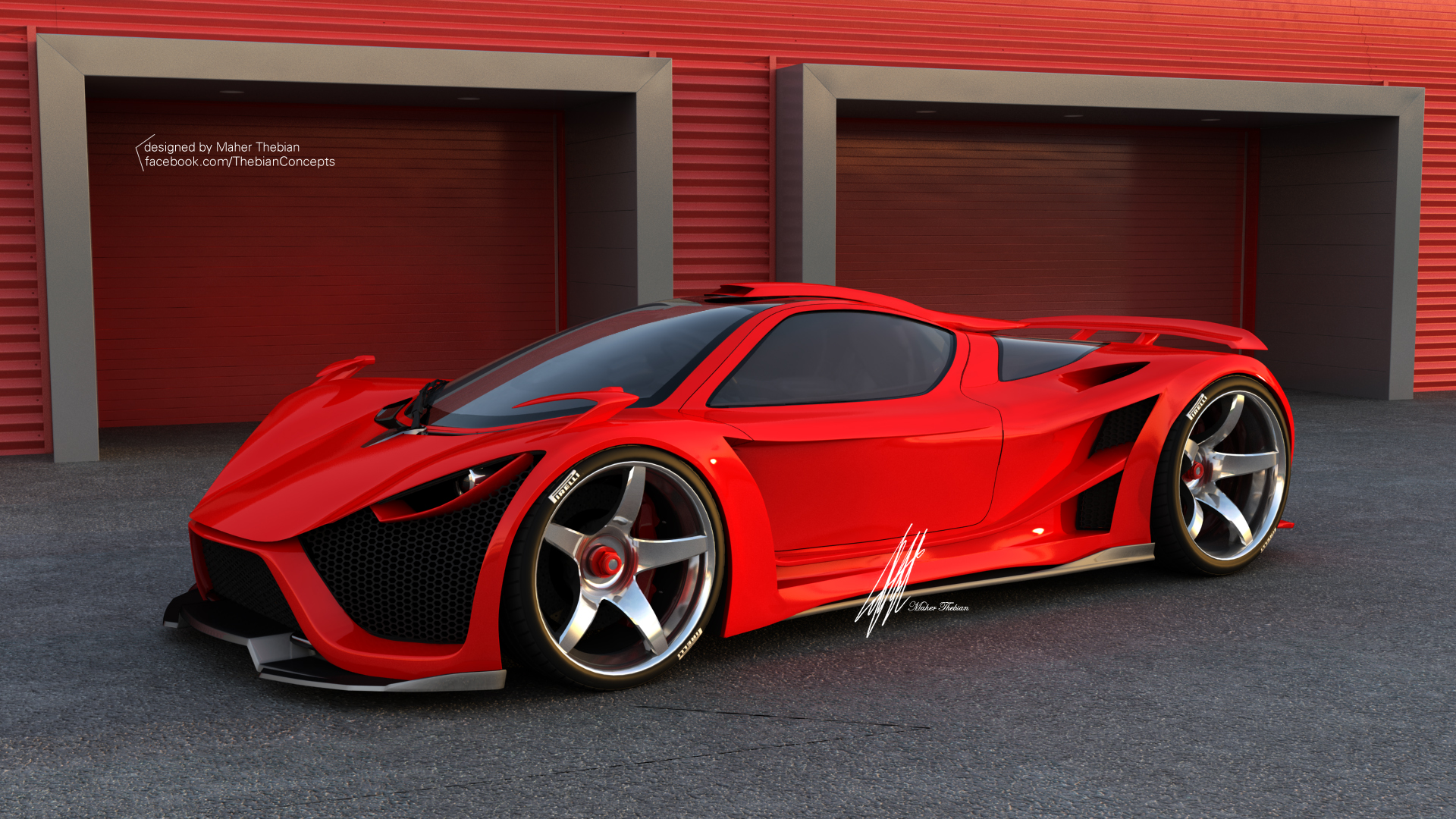 Scorpion Supercar By Maher Thebian At Coroflot Com