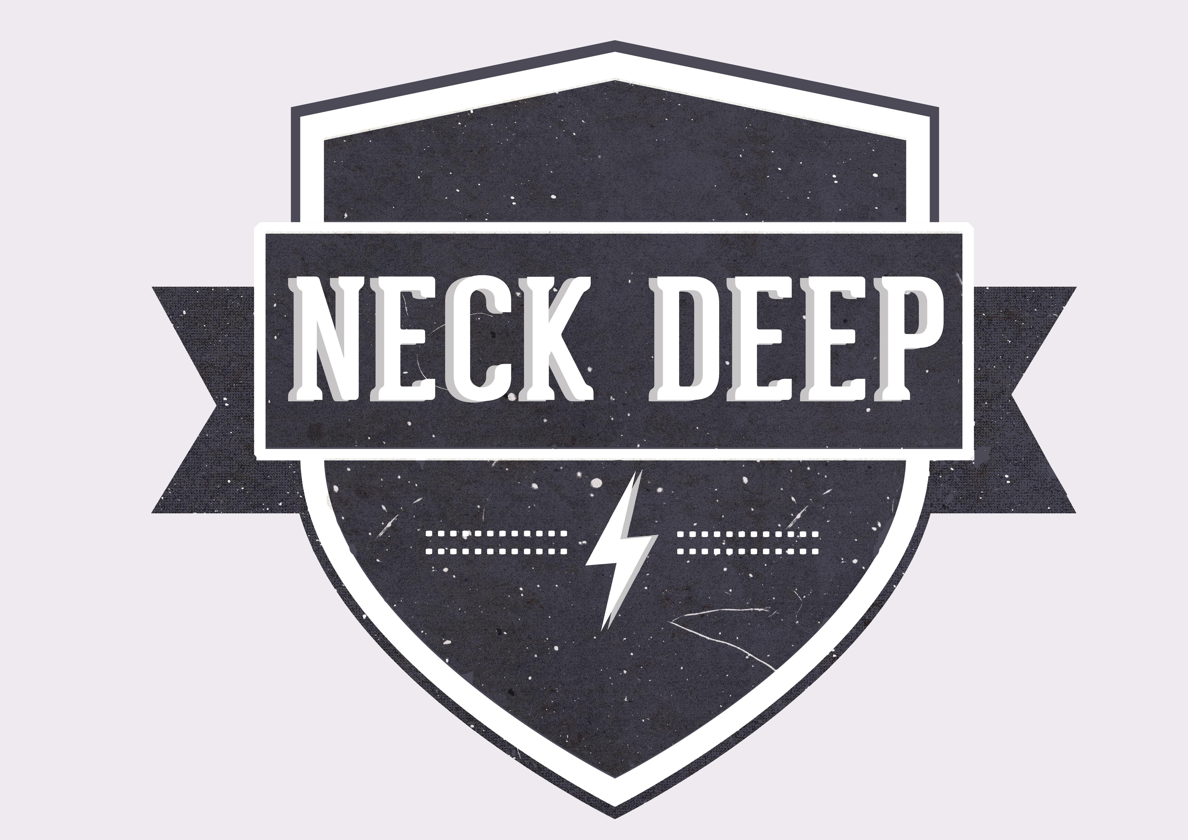Logo for Neck Deep by Seanzha Rachman Rachman at Coroflot.com