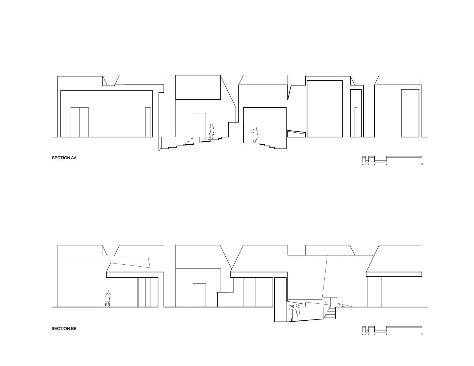 Year 1 fall project 2 linear organization by adam choi at for Linear organization in architecture