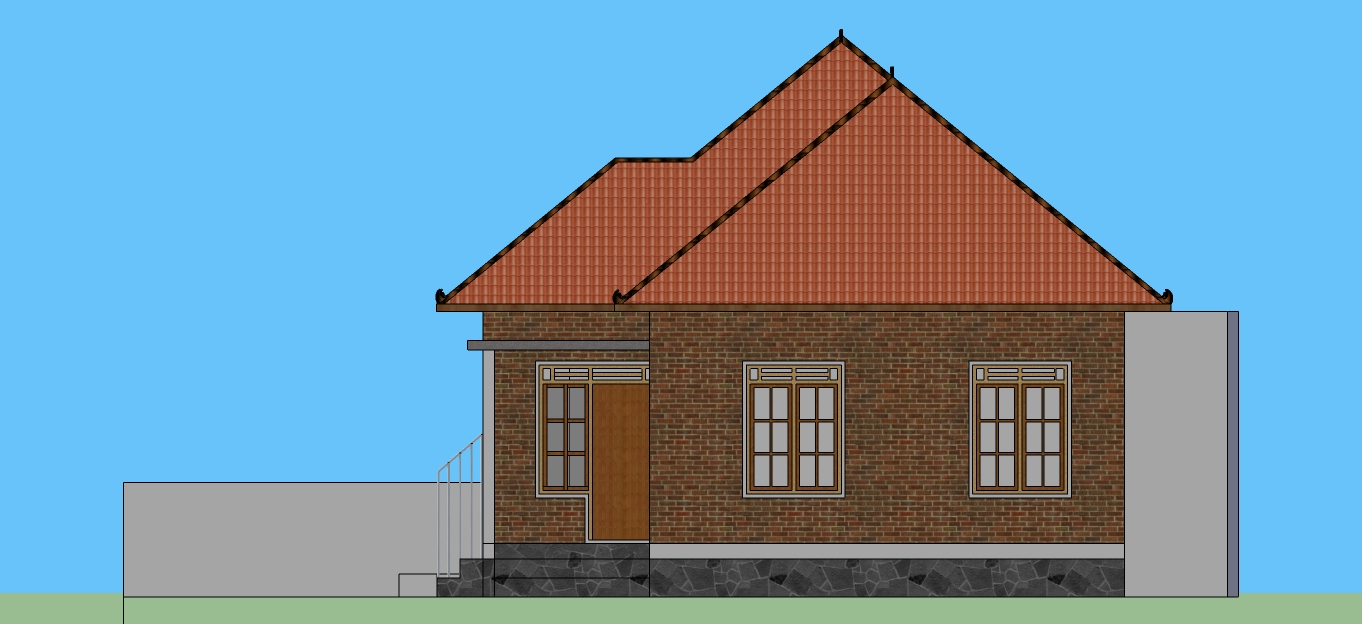 rumah jawa modern by denny prasetya at