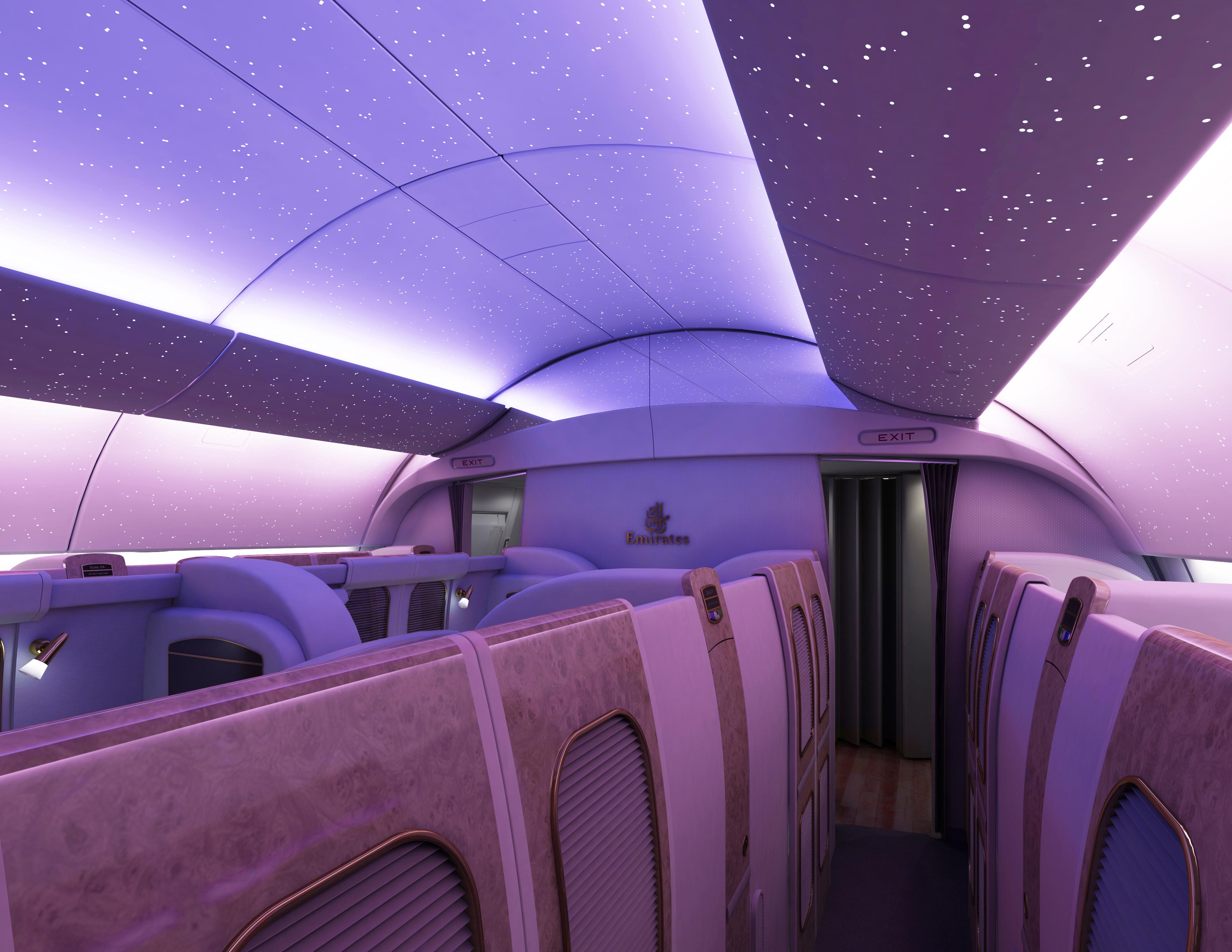 Aircraft interior design by nino senoadi at for Aircraft interior designs
