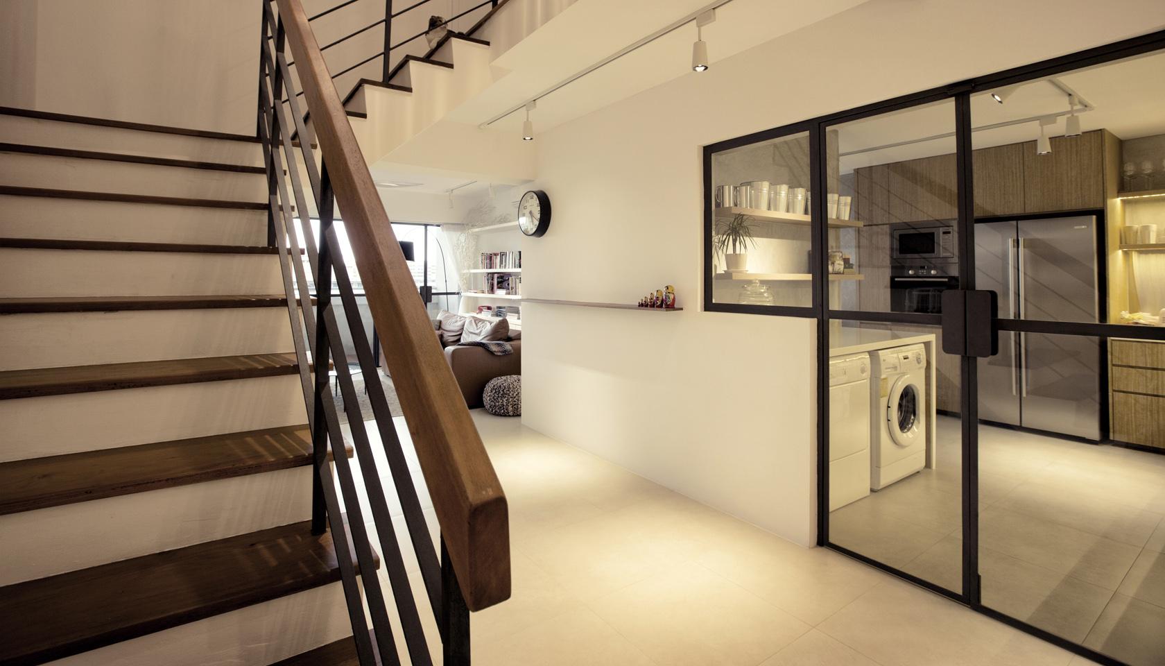 G maisonette singapore by 0932 design consultants at for Modern maisonette designs