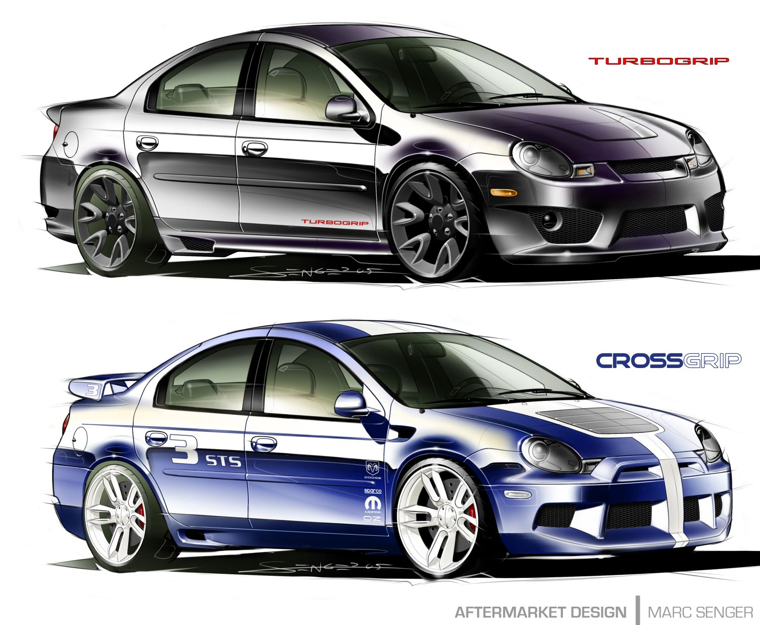 Dodge Neon SRT-4 Body Kit