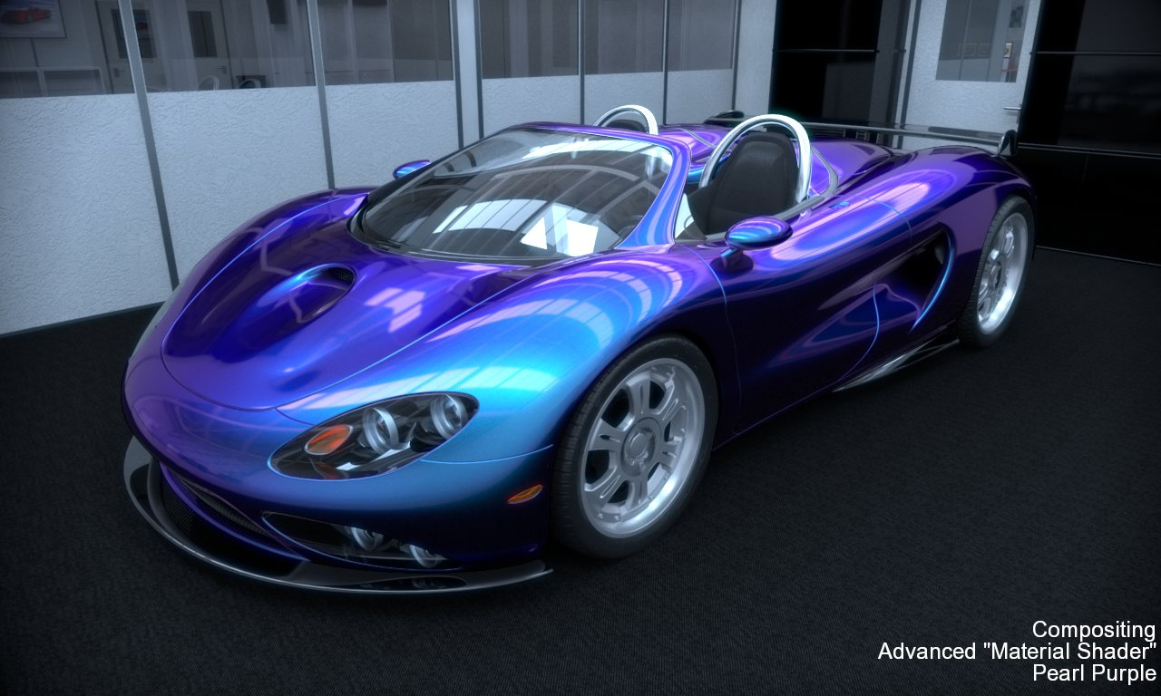 Purple Pearl Auto Paint