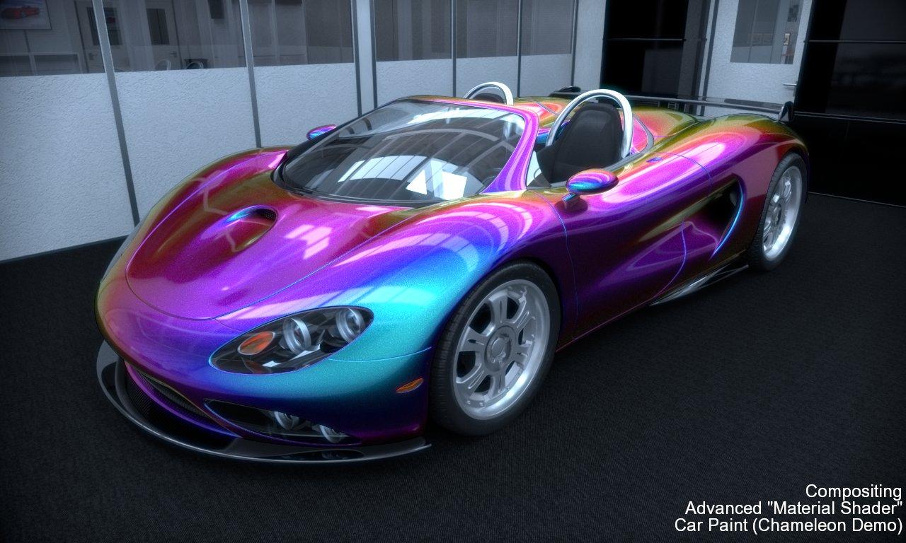 Chameleon car paint colors for New paint car