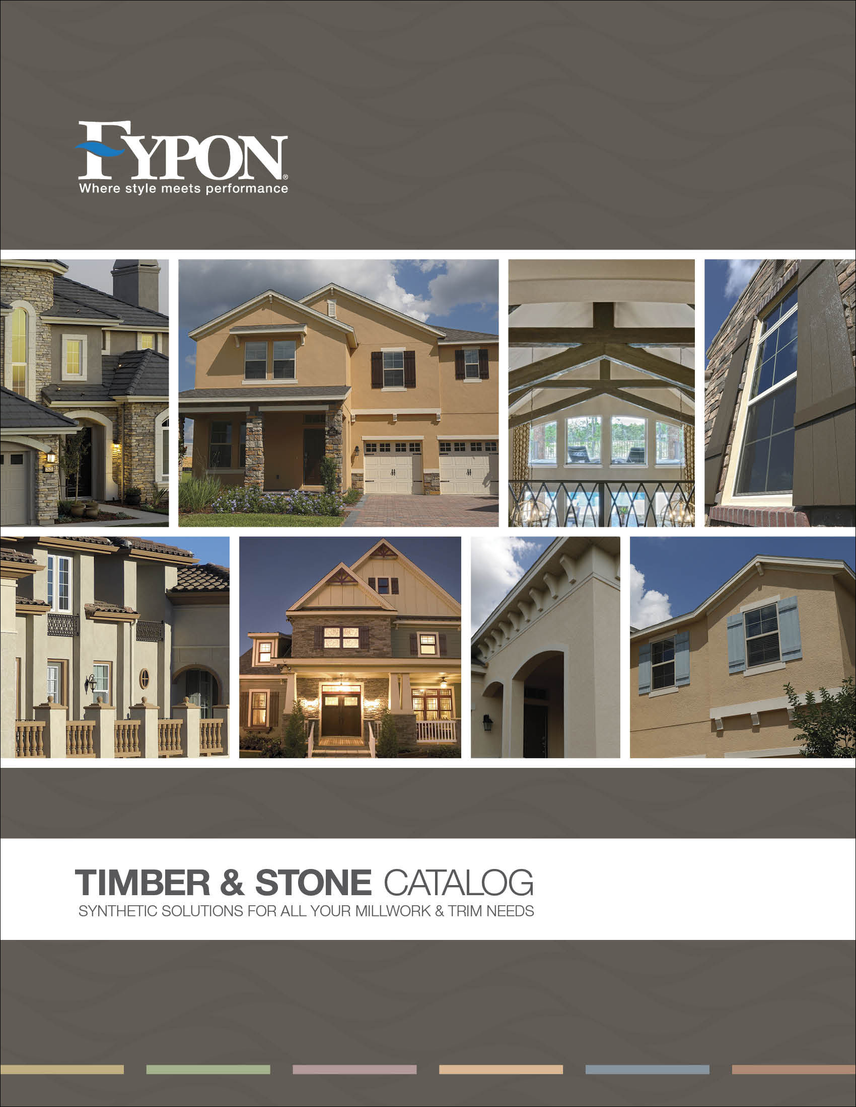 Fypon timber stone catalog by chelsea hall at for Fypon molded millwork