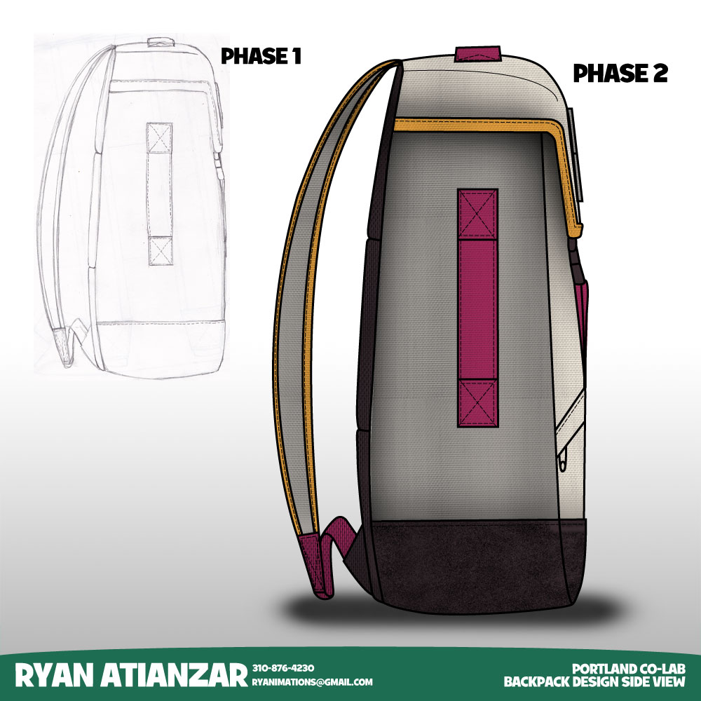 Backpack Tech Pack Tech Pack Cad Backpack Design