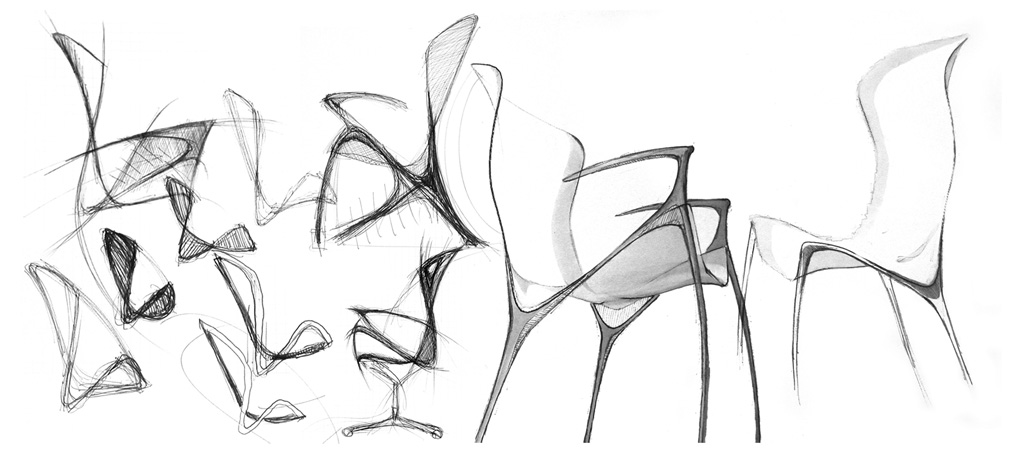 Product design by waclaw klemp at for Furniture sketch design