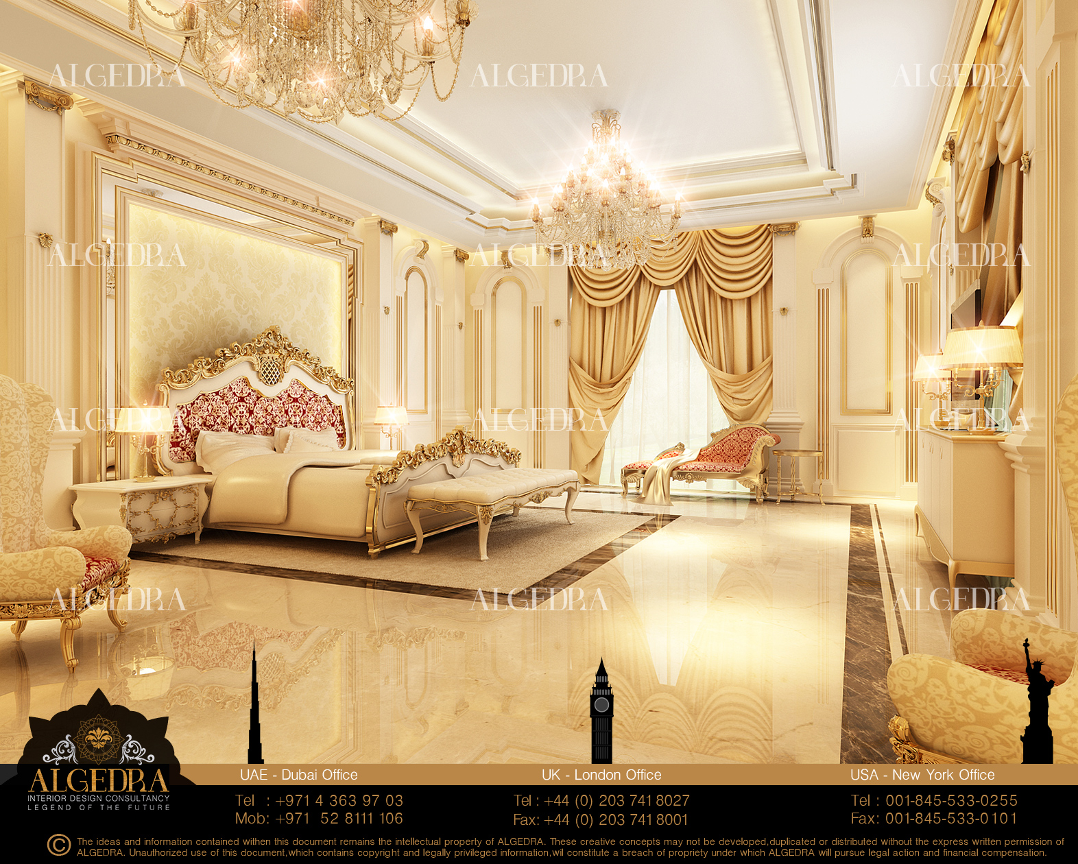 Master Bedroom By Algedra By Algedra Interior Design At