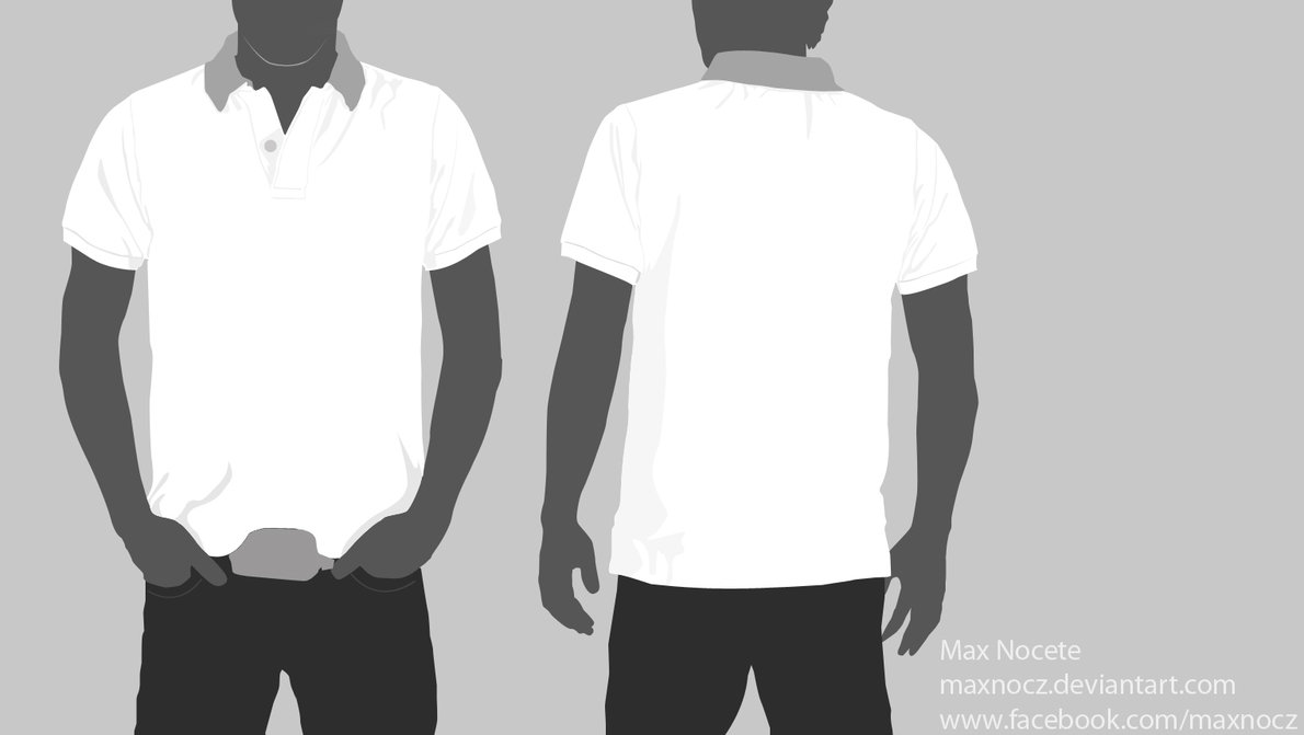 Shirt design size template