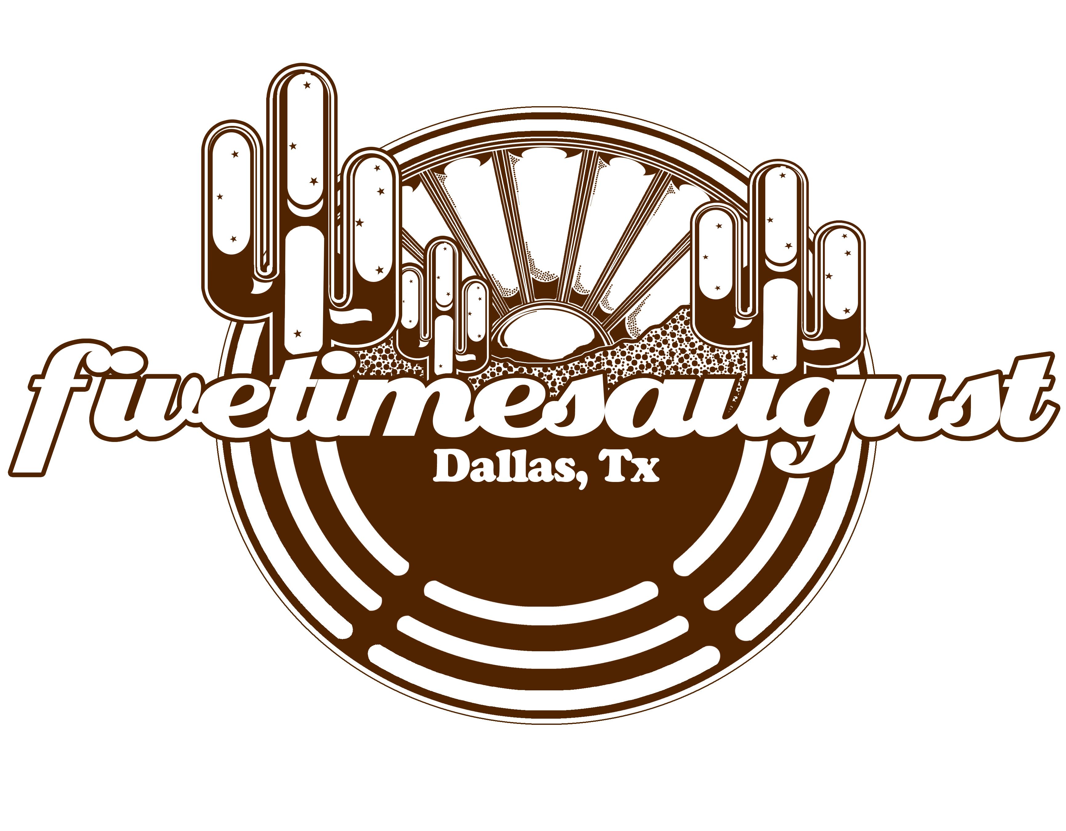 Shirt design dallas tx -  Dallas Tx Five Times August Tour Shirt Design
