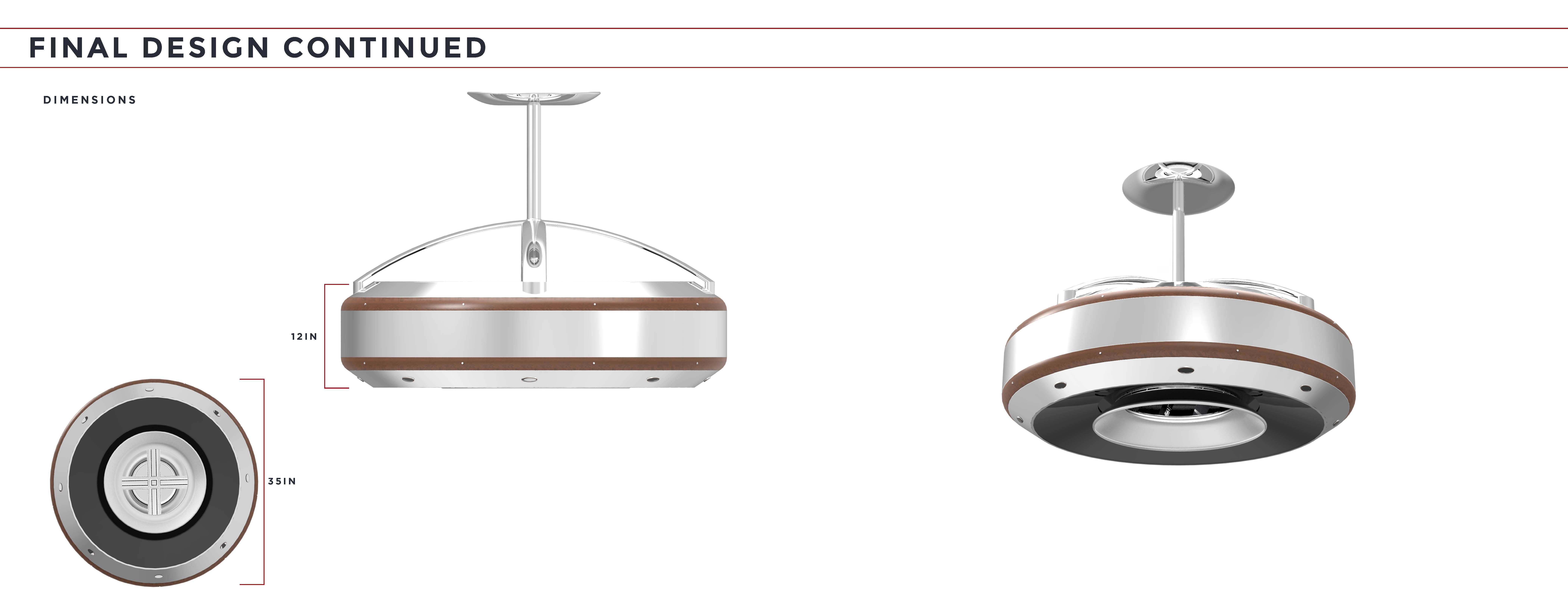 Ceiling Fans Without Blades coanda: smart blade-less ceiling fanconstantino papatsoris at