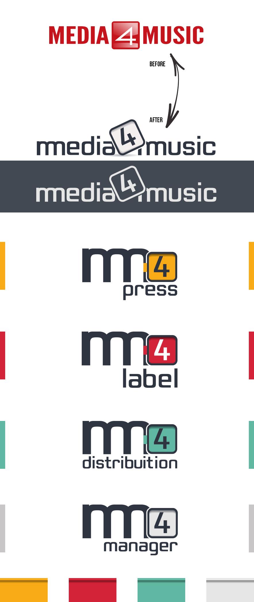 Branding for Media4Music