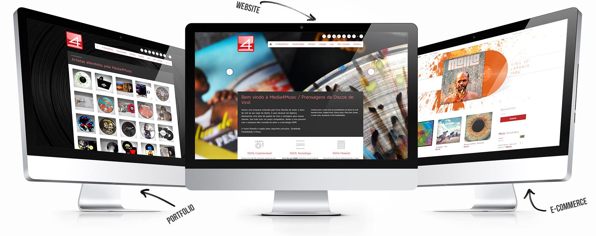 Media4Music Website