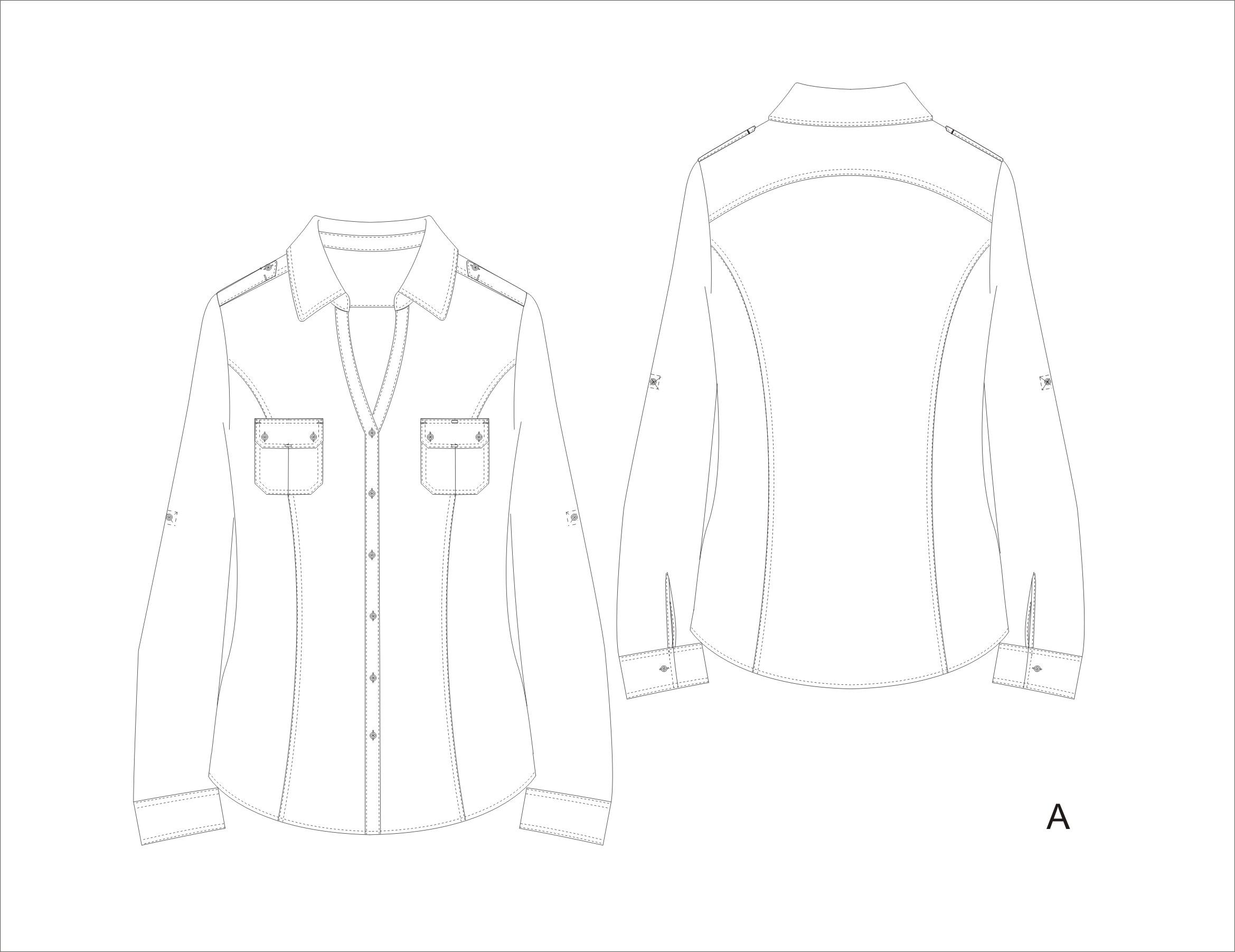 Shirt design sketches - H Favorite