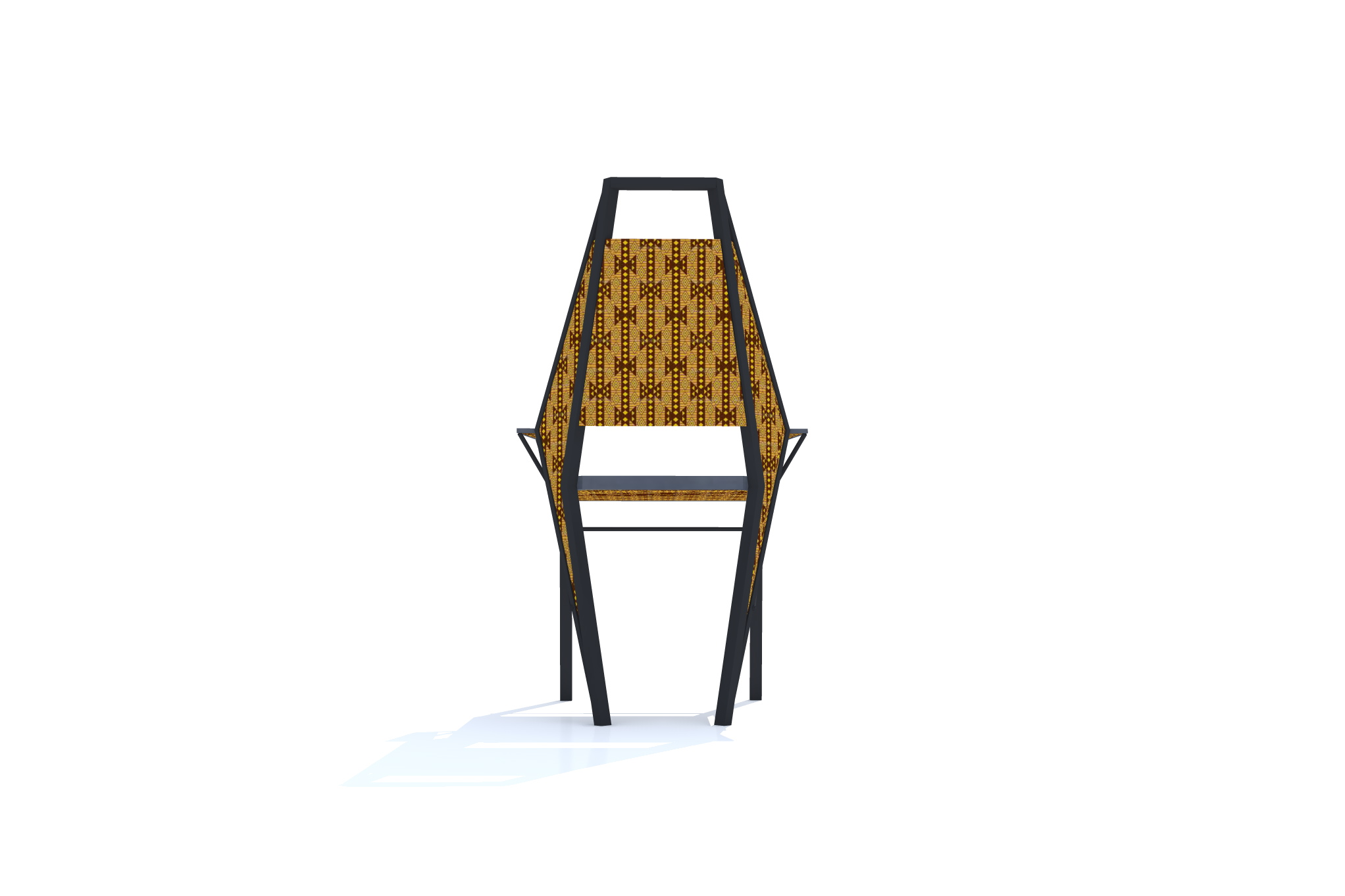 ADJII CHAIR AFRICAN FURNITURE DESIGN By Kwessi Albert At