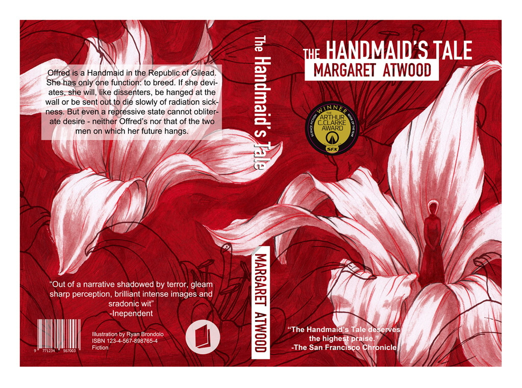 the handmaids tale flowers The handmaid's tale by margaret atwood (first publication: 1985 / this edition: vintage books 2010) taken with red orchids nolite te bastardes carborundorum hard to explain how i feel about this book.