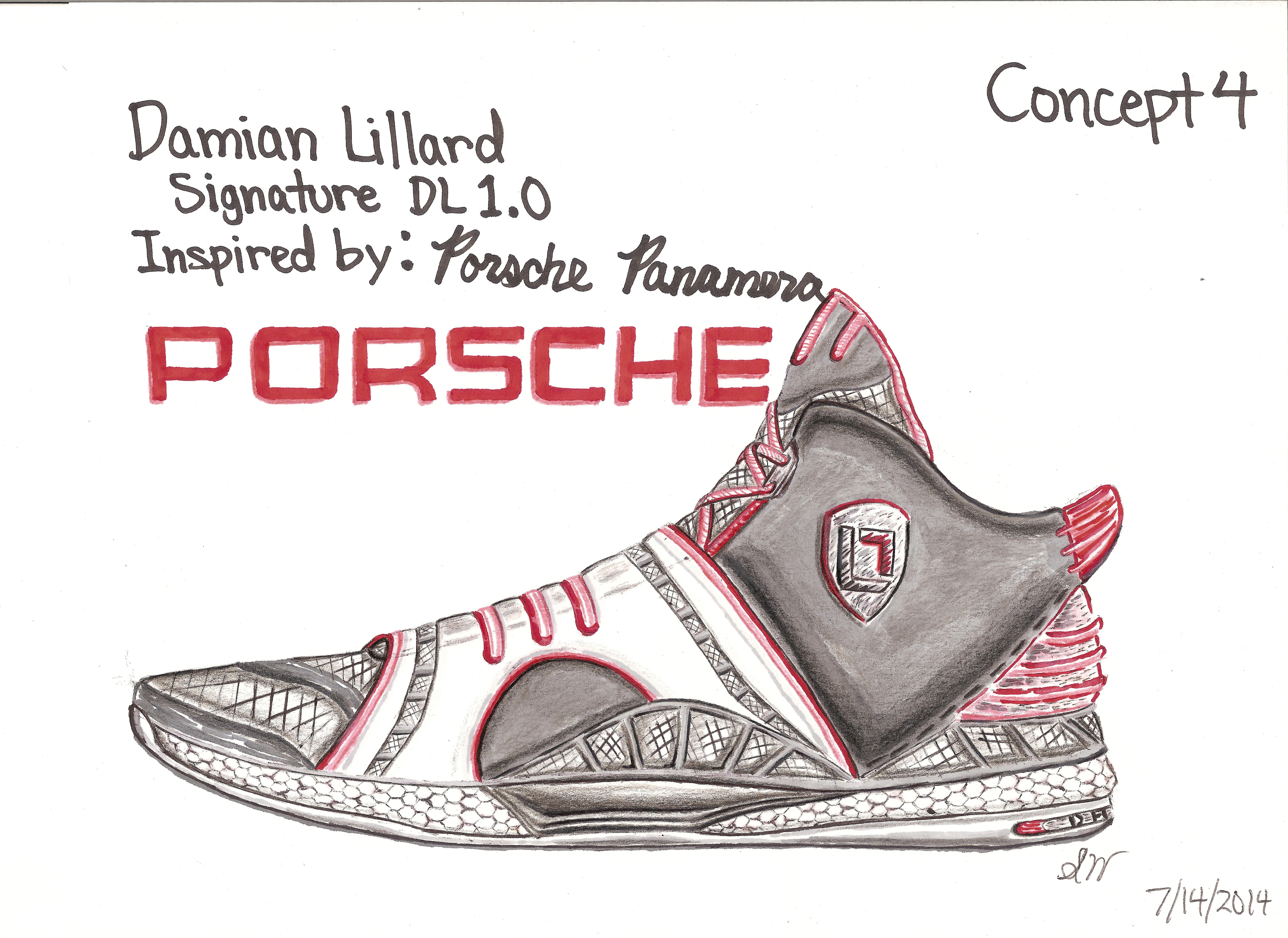 Damian Lillard Adidas Signature Project by Stanley Wu at ...