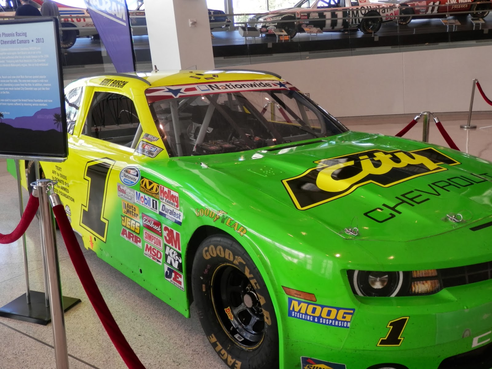 Days Of Thunder Car Armed Forces Foundation By Megan