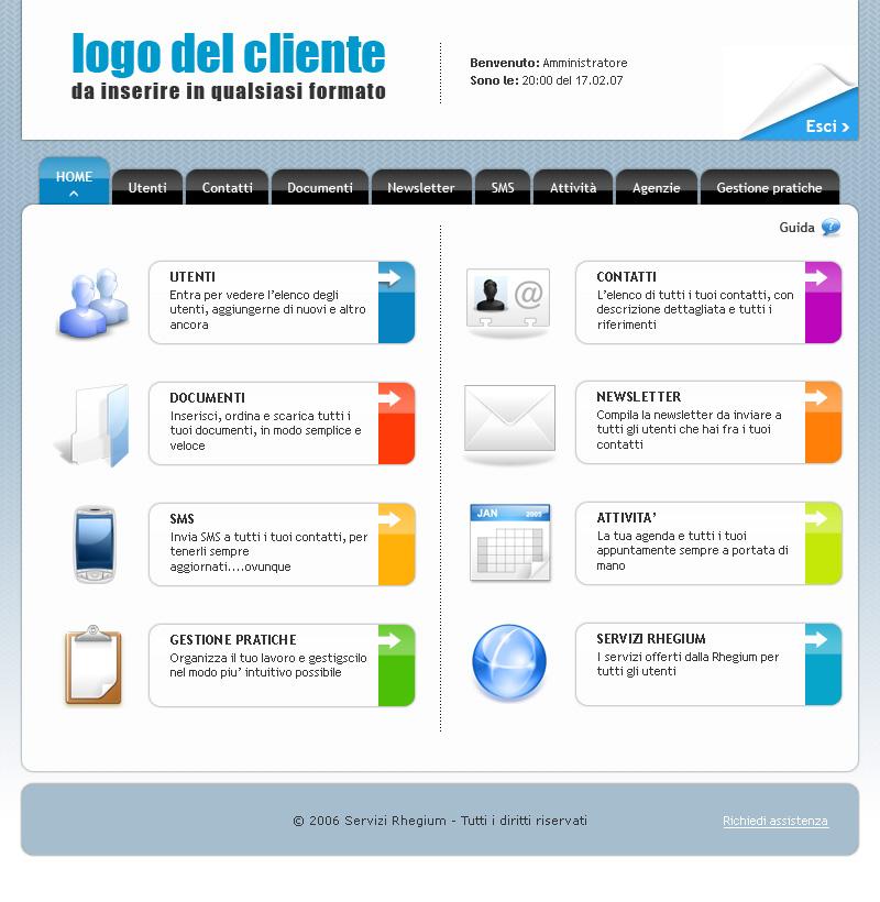 Website by Domenico Guinea at Coroflot.com