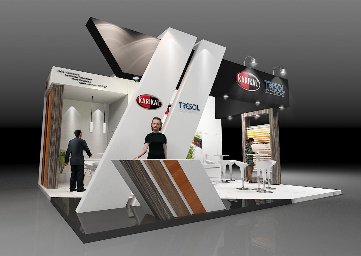 Exhibition Booth Concept : Karikal fimma by roberto jubainski at coroflot