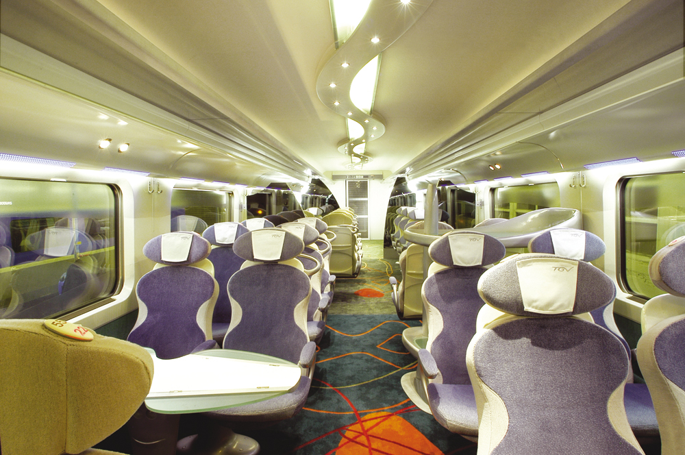 QView Full Size Second Class Interior Design