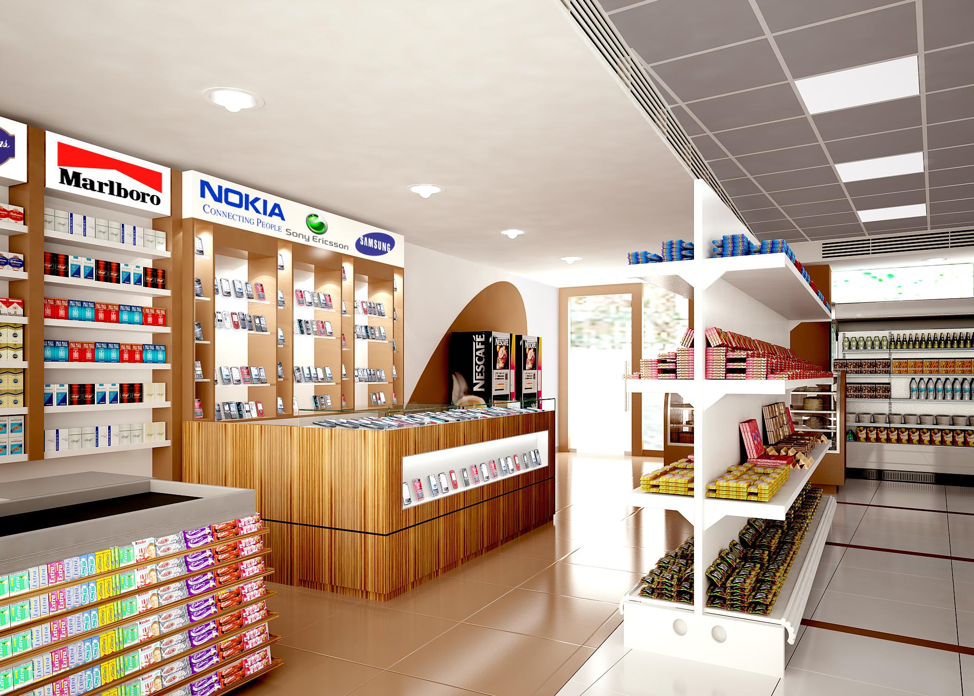 Retail Interior By NASEEM RAHMAN At Coroflot