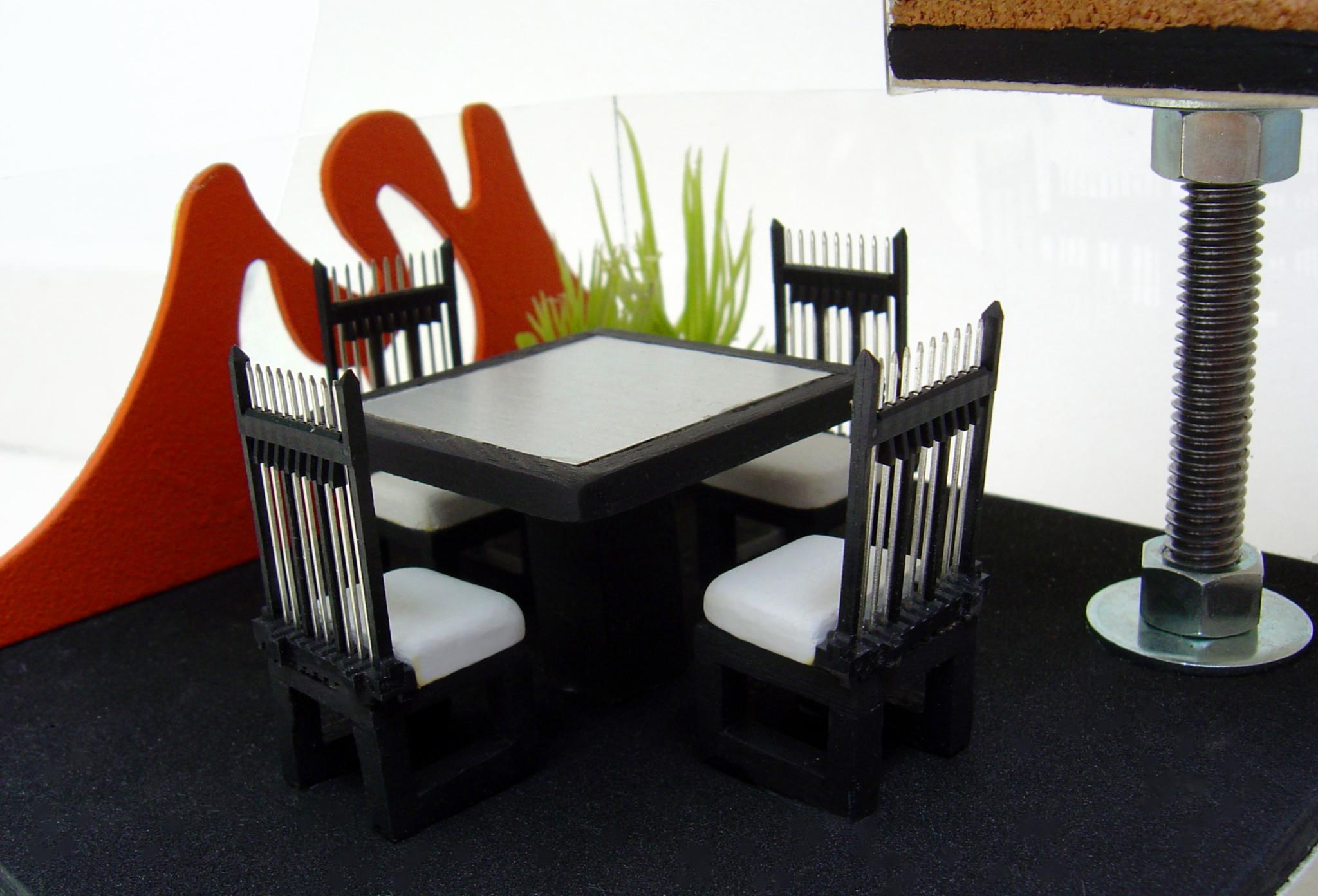 Como hacer muebles para maquetas imagui for Fabricar muebles