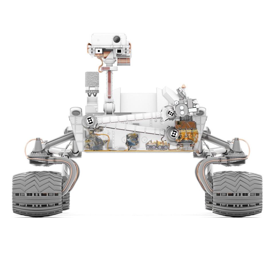 draw mars rover curiosity - photo #15