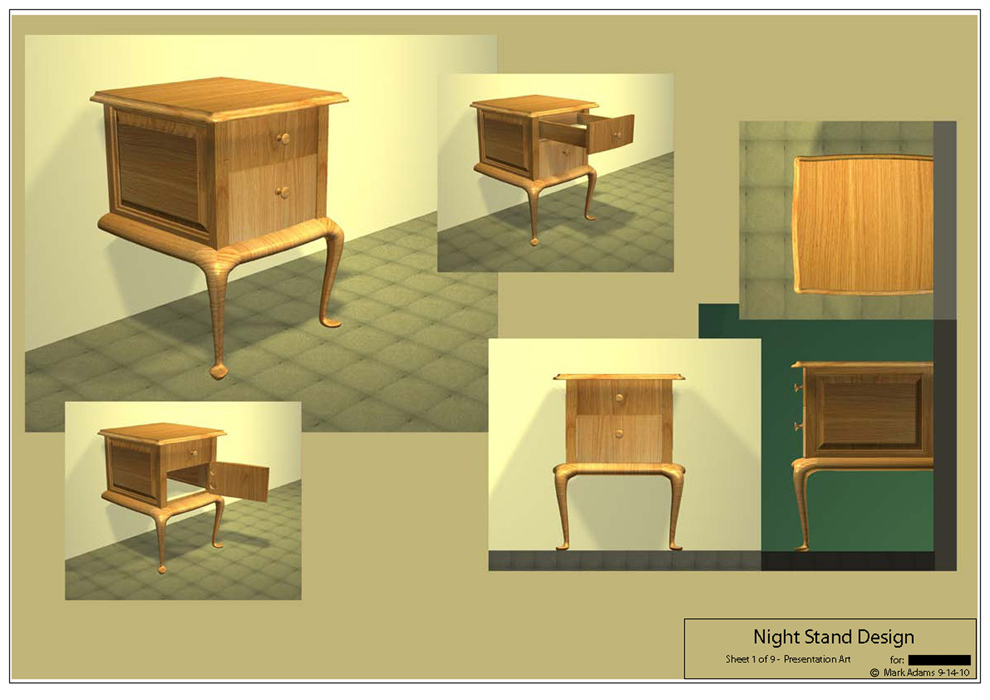Furniture Shop Drawings And Shop Drawings Using
