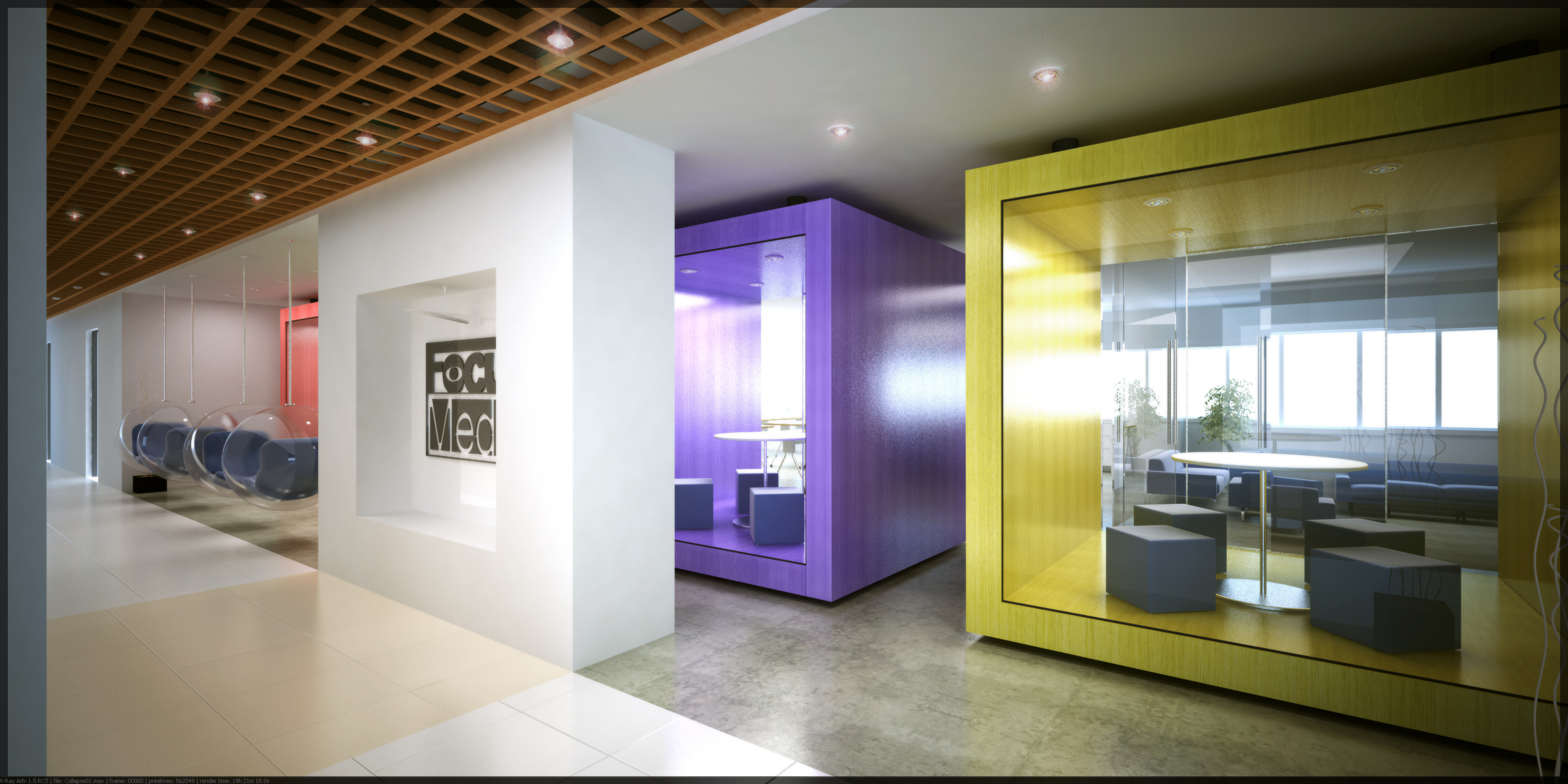 China corporate interior projects 2007 by michael coloso for It company interior