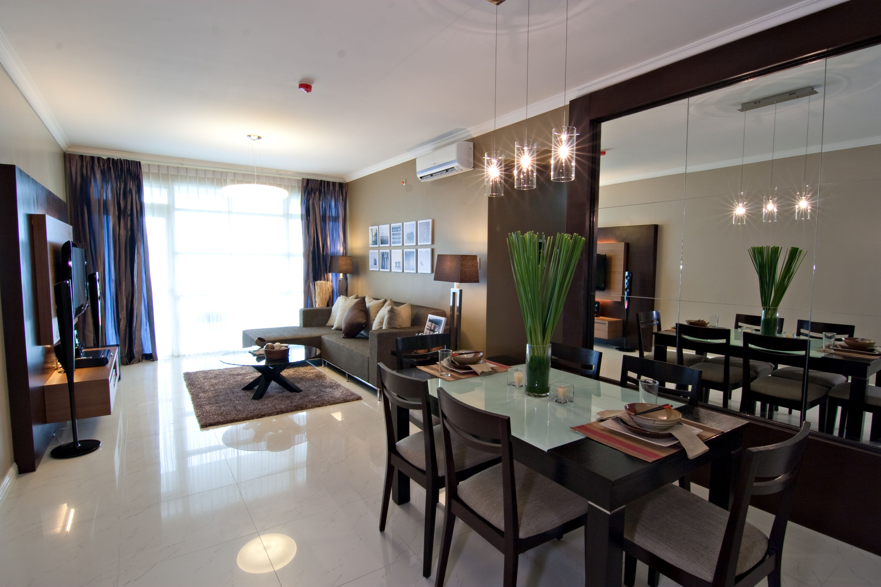 Citylights garden condominium by adrian del monte at Condo kitchen design philippines