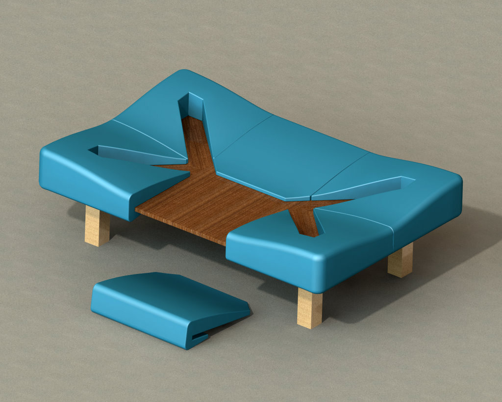 Coffee Table By Ben Scheele At Coroflotcom