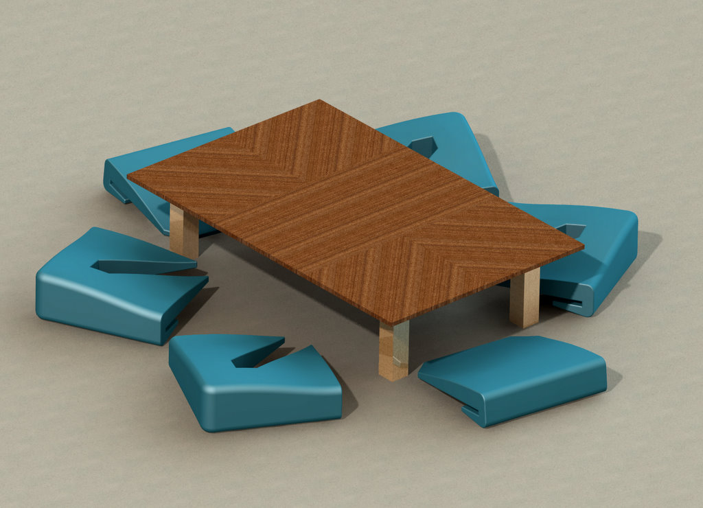 Coffee Table By Ben Scheele At