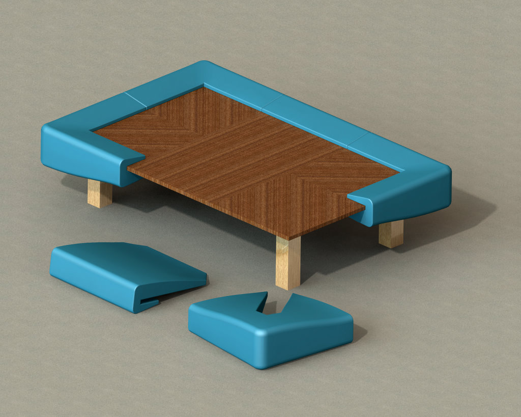 Japanese Style Dining Table Coffee Table By Ben Scheele At Coroflotcom