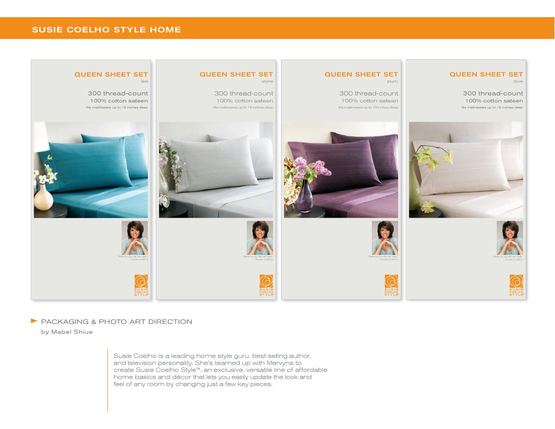 Branding Packaging by Mabel Shiue at Coroflotcom