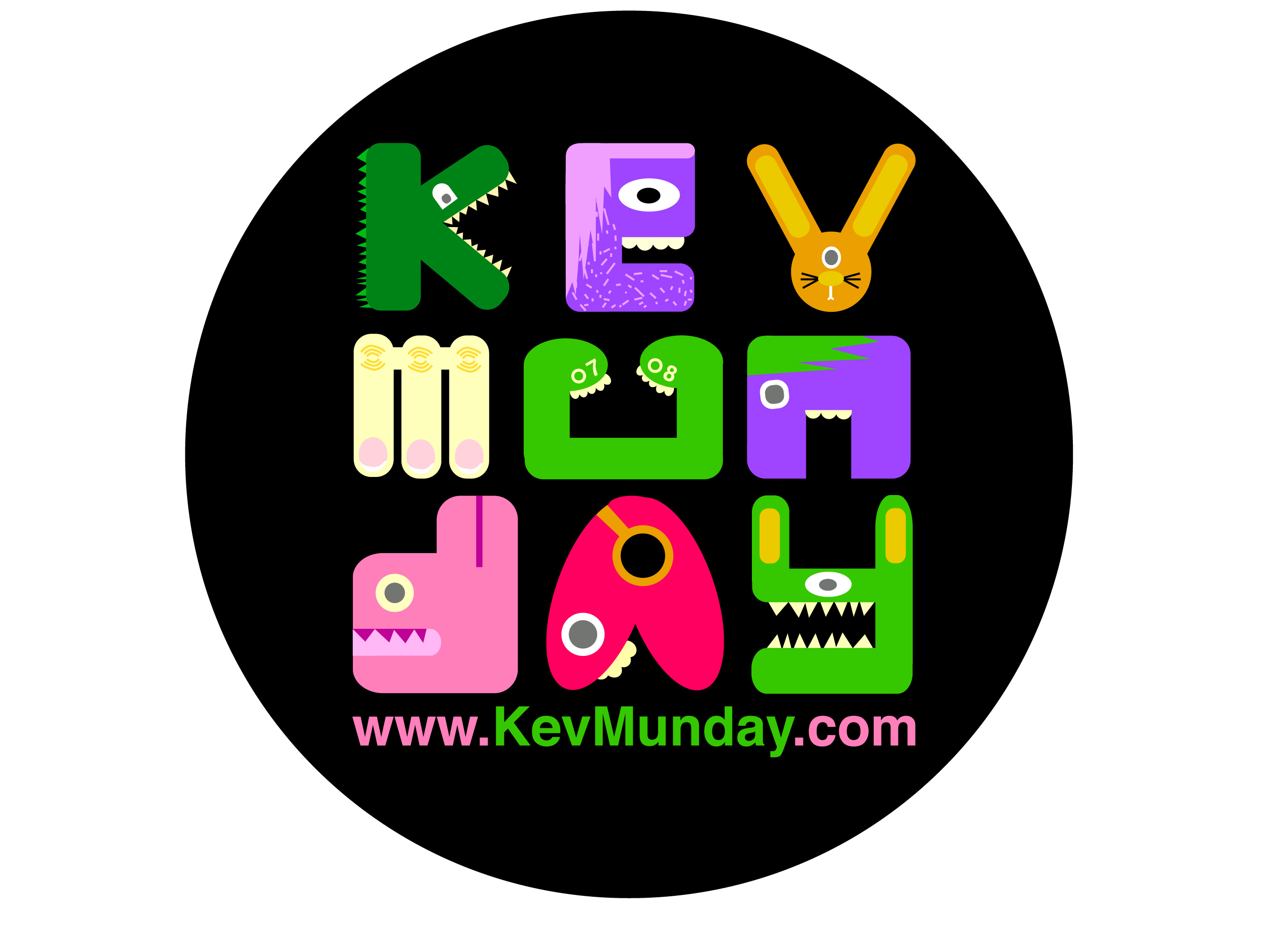 Kev logo  Portfolio by Kev Munday at Coroflot.com