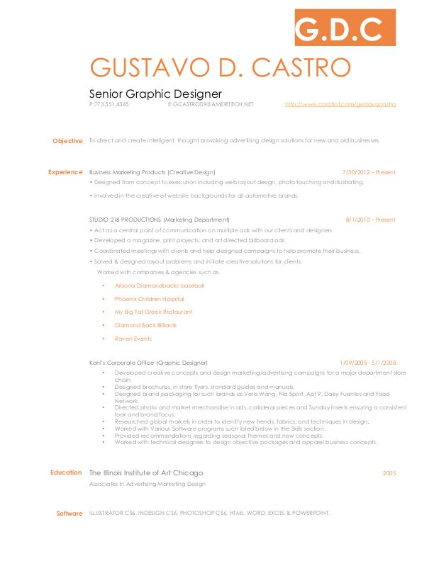 View resume examples