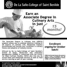 De La Salle College Of Saint Benilde Marketing Communication